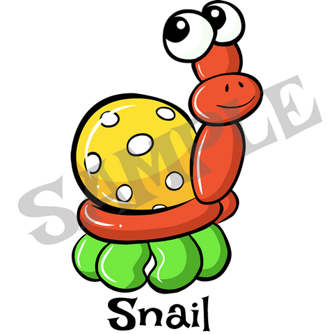 Snail Menu Item