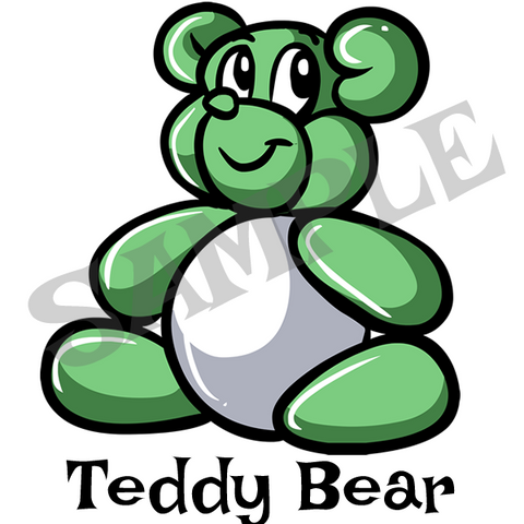 Teddy Bear Menu Item