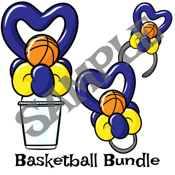 Basketball Heart Bundle