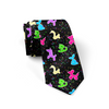 Classic Balloon Animals Black Necktie