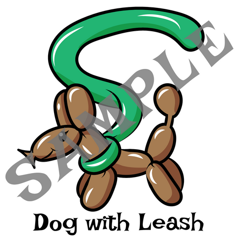 Dog on a Leash