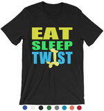 Eat Sleep Twist Unisex T-shirt