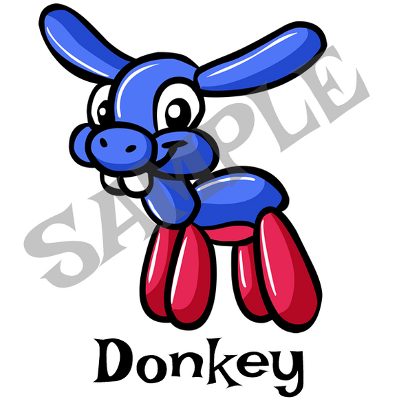 Donkey Menu Item