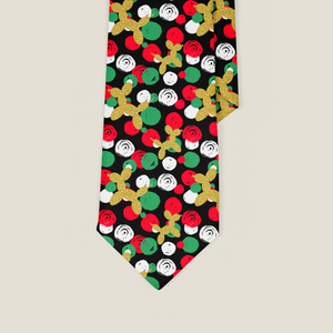 Holiday Dots Balloon Animal Necktie