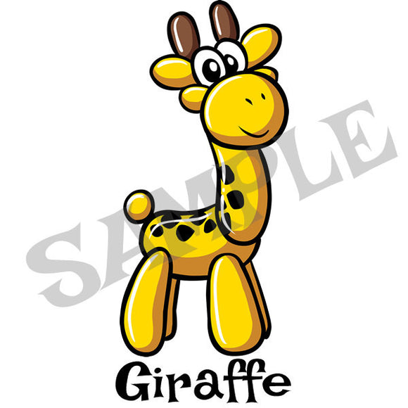 Giraffe Menu Item