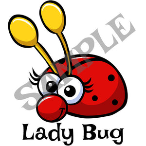 Lady Bug Menu Item