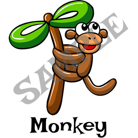 Monkey Menu Item