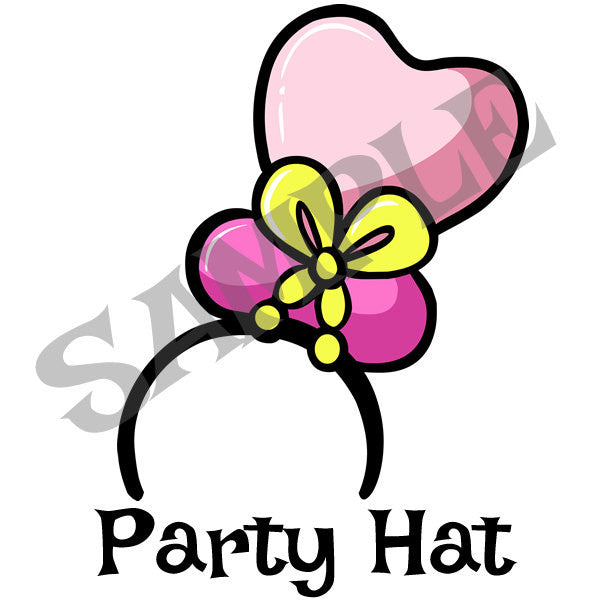 Party Hat Menu Item