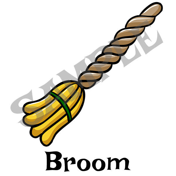 Broom Menu Item