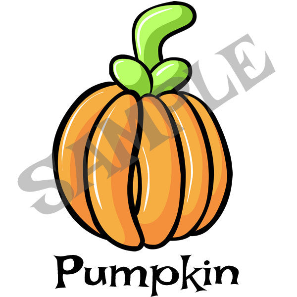 Pumpkin Menu Item