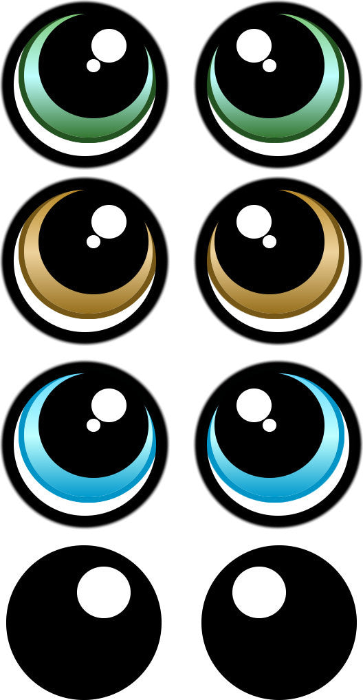 Gratifying image for printable eyes template