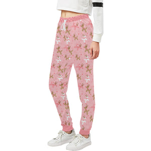 Reindeer Balloon Dogs Women's Sweatpants