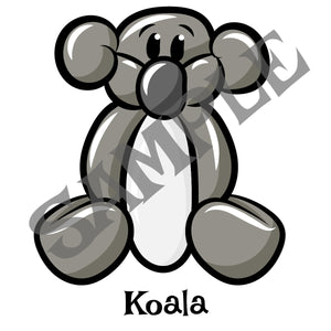 Koala Balloon Animal