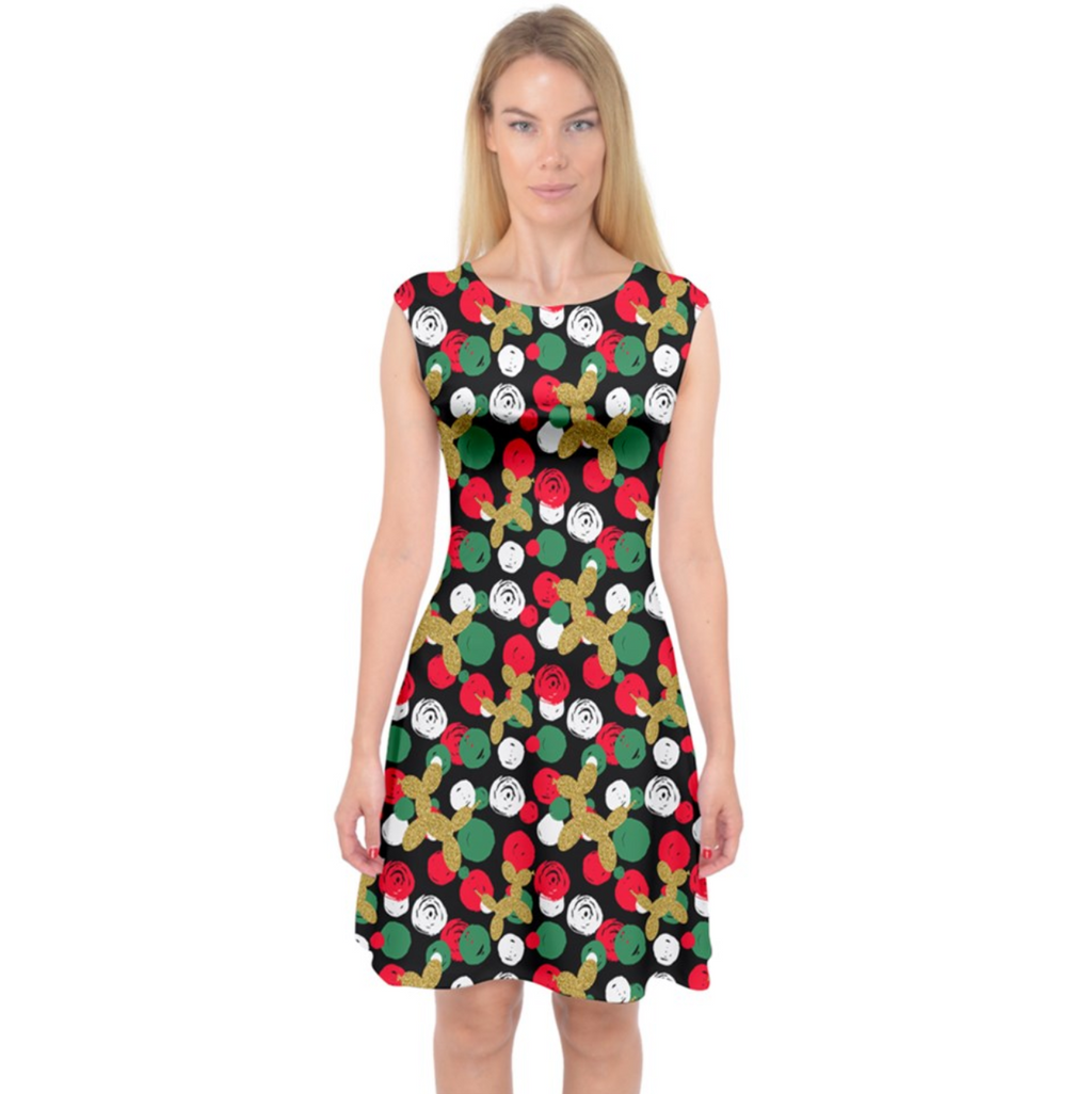 Holiday Dots Midi Dress