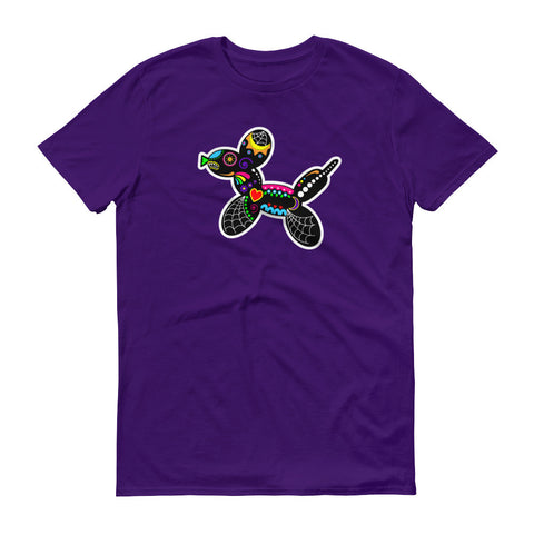 Sugar Skull Balloon Dog Basic T-shirt