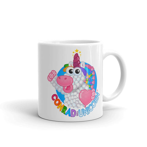 The Official Conrad the Unicorn Logo Mug!