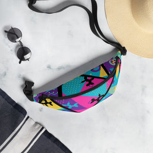Memphis Balloon Dog Fanny Pack