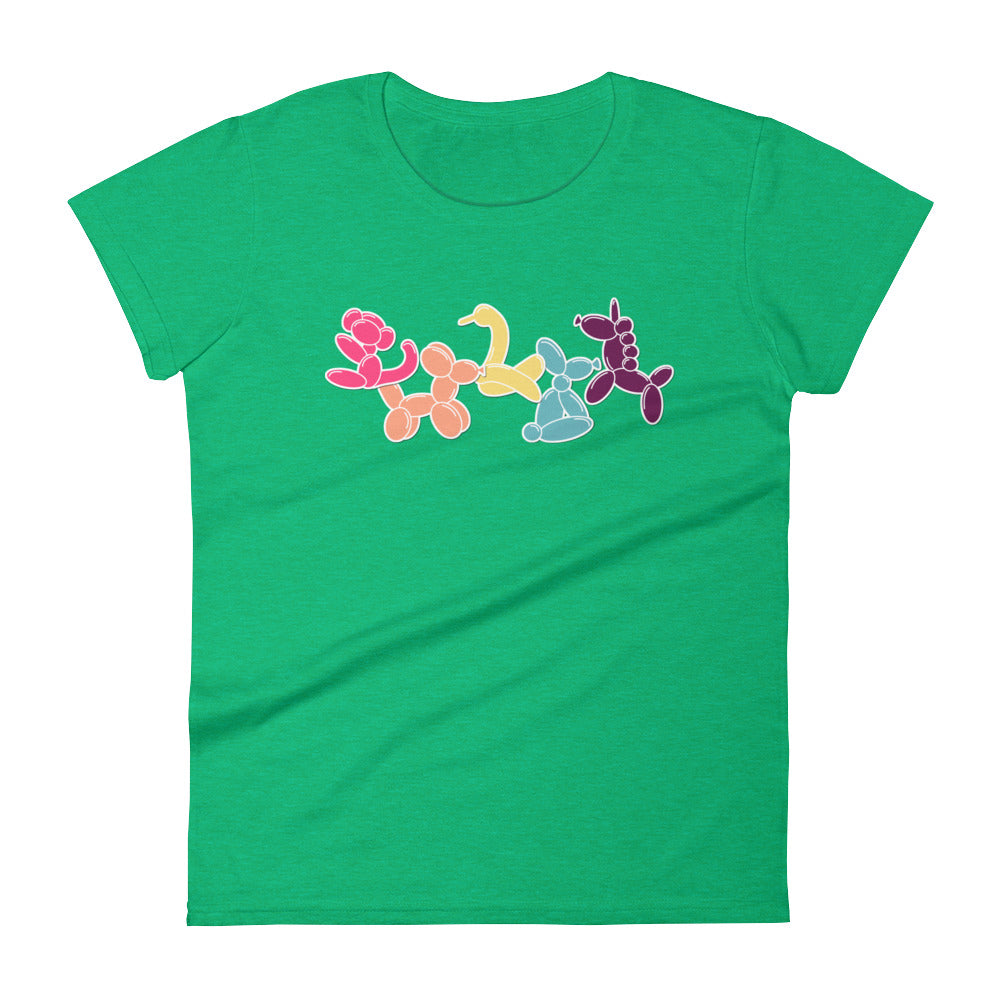 Classic Balloon Animals ladies T-shirt