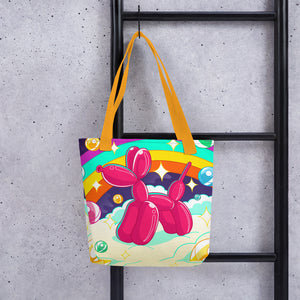Fantasy Balloon Dog Tote Bag