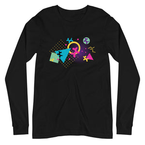 Memphis Balloon Dogs Long Sleeve Tee