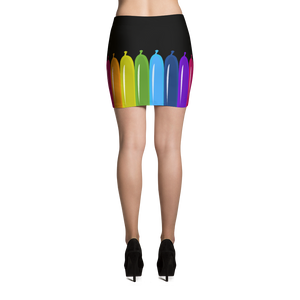Twister Balloon Mini-Skirt