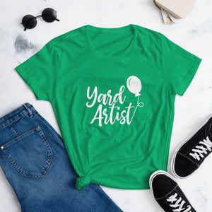 Yard Artist Women's short sleeve t-shirt