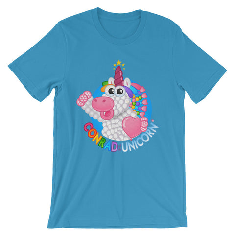 The Official Conrad the Unicorn Logo T