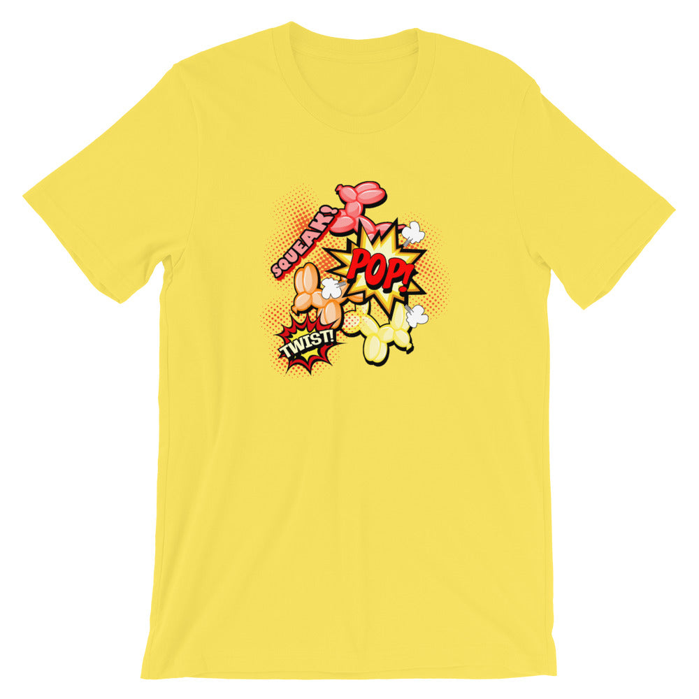 Comic Dogs Short-Sleeve Unisex T-Shirt