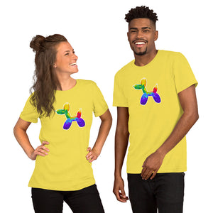 Geometric Balloon Dog T-Shirt