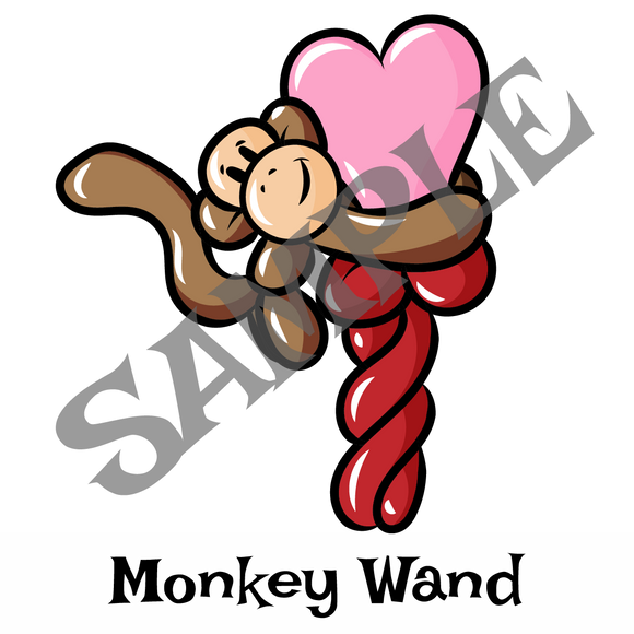 Monkey Heart Wand