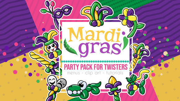 Mardi Gras / Carnaval Party Pack