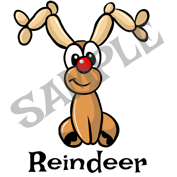 Reindeer Menu Item
