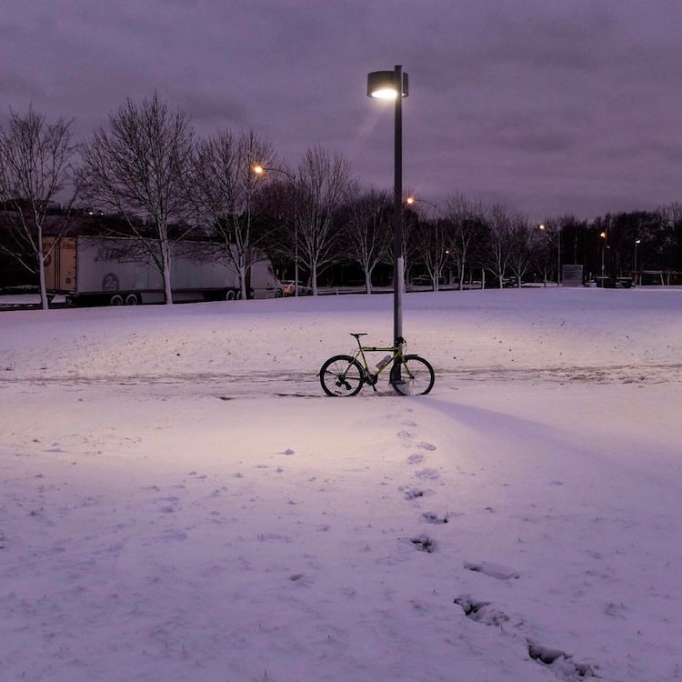 Surviving the Polar Vortex on Two Wheels