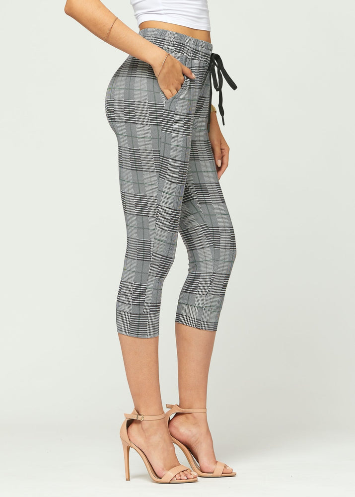 Lily Plaiditude Ultra Soft Capri Jogger Sweatpants