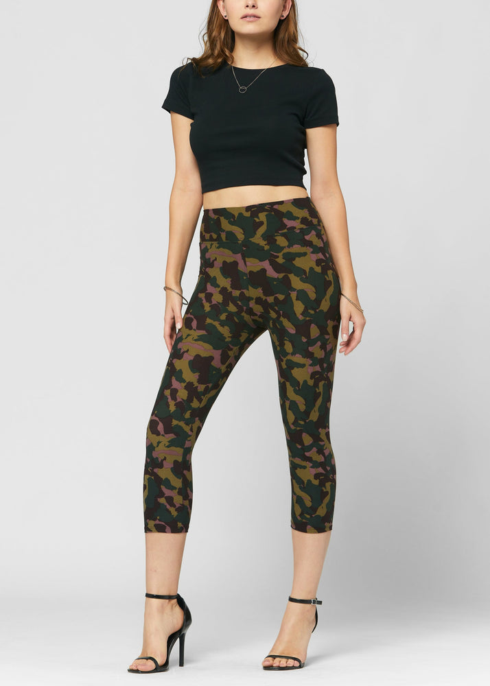 Load image into Gallery viewer, Chloe Dark Knight Ultra Soft High Waist Capri Leggings