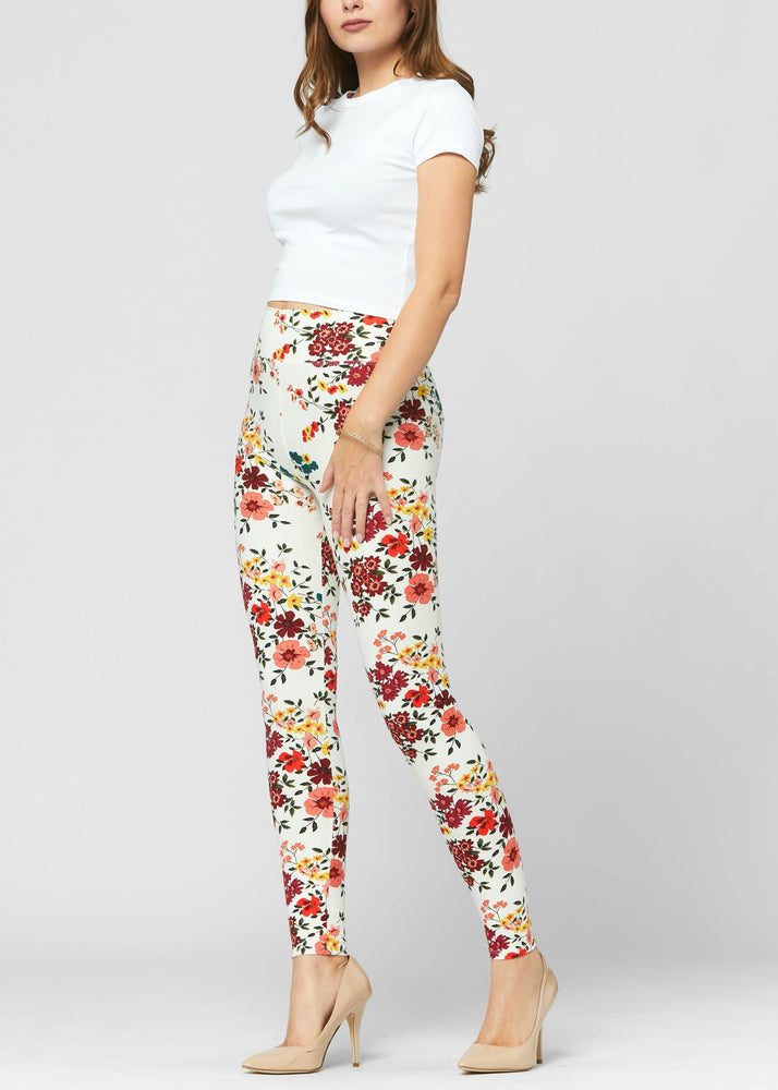 Load image into Gallery viewer, Chloe Garden Party Ultra Soft High Waist Leggings