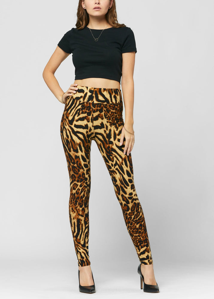 Chloe Wild About You Ultra Soft High Waist Leggings