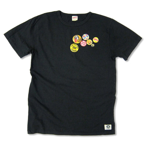 """CAN BADGE"" RECYCLE COTTON TEE"