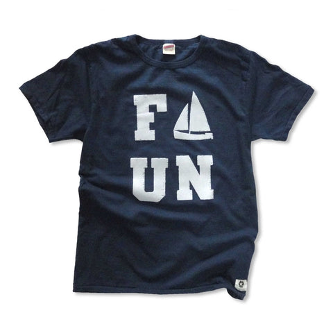 """FUN"" RECYCLE COTTON TEE"