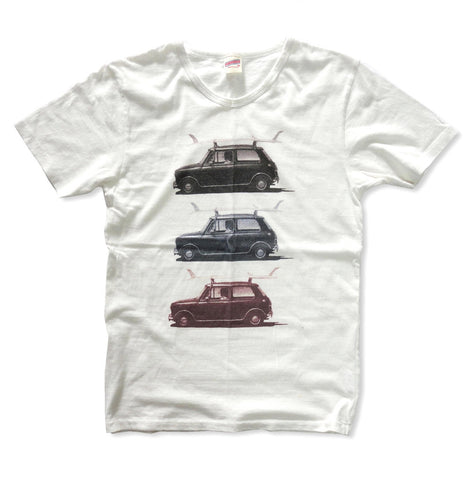 """CLASSIC CAR"" RECYCLE COTTON TEE"