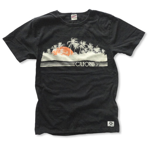 """CALIFORNIA VIEW"" RECYCLE COTTON TEE"