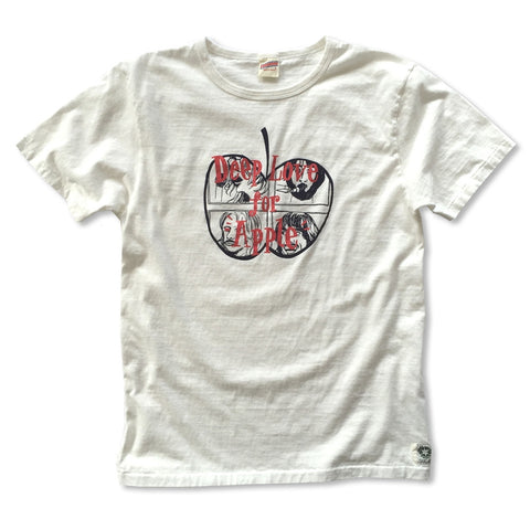 """DEEP LOVE FOR APPLE"" RECYCLE COTTON TEE"