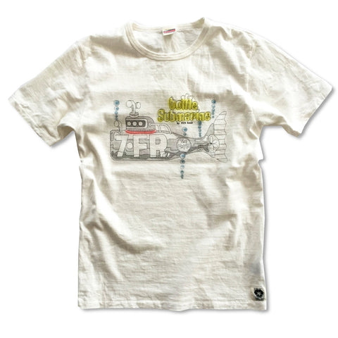 """7・FR"" RECYCLE COTTON TEE"
