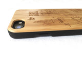 "Natural Bamboo iPhone Case - ""Hawaii"""