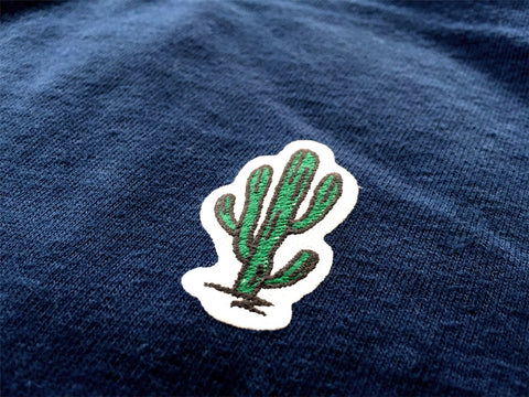 """CACTUS"" RECYCLE COTTON TEE"