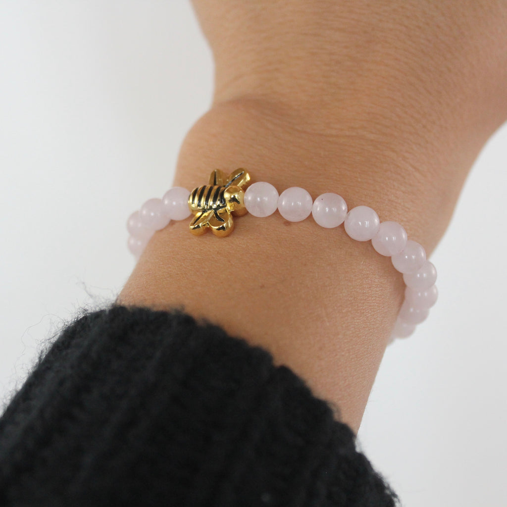 "Rose Quartz ""Unique"" Bracelet"