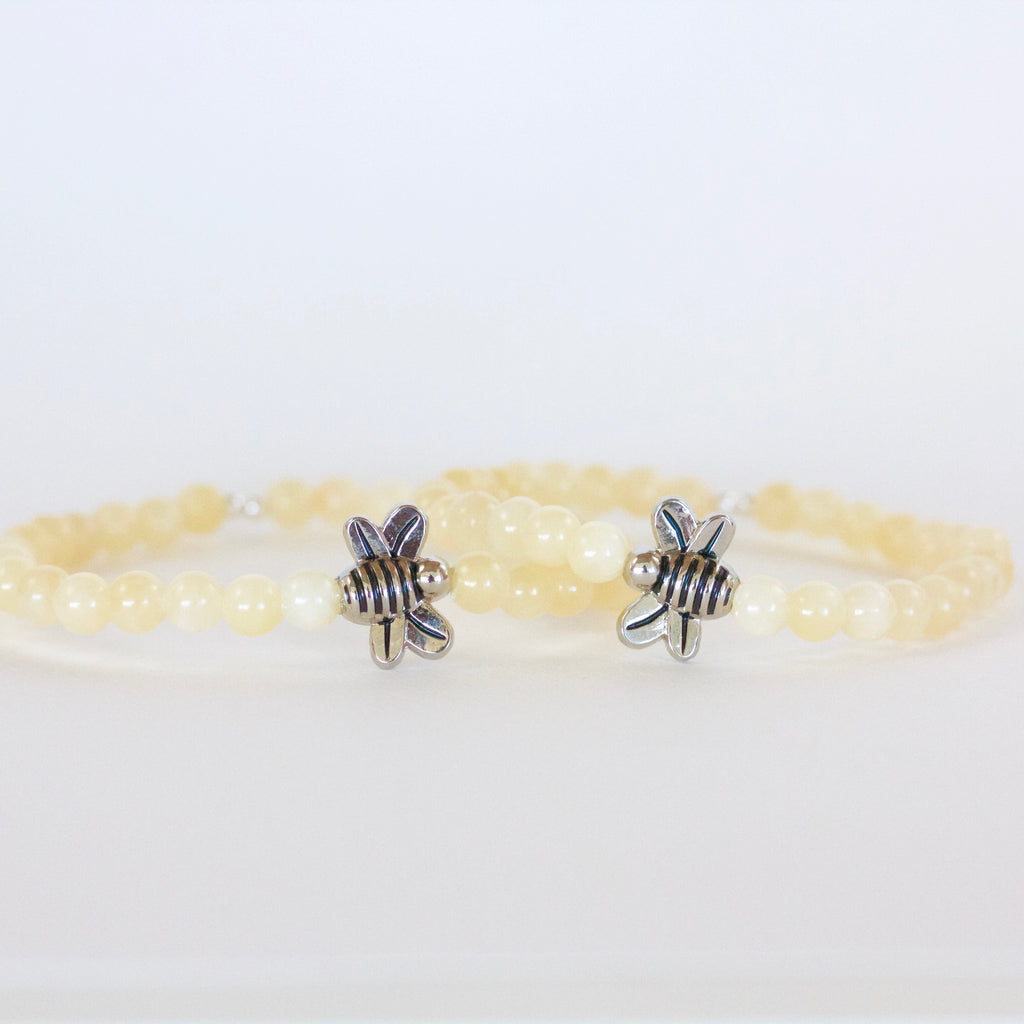 "Yellow Calcite ""Joy"" Bracelet"