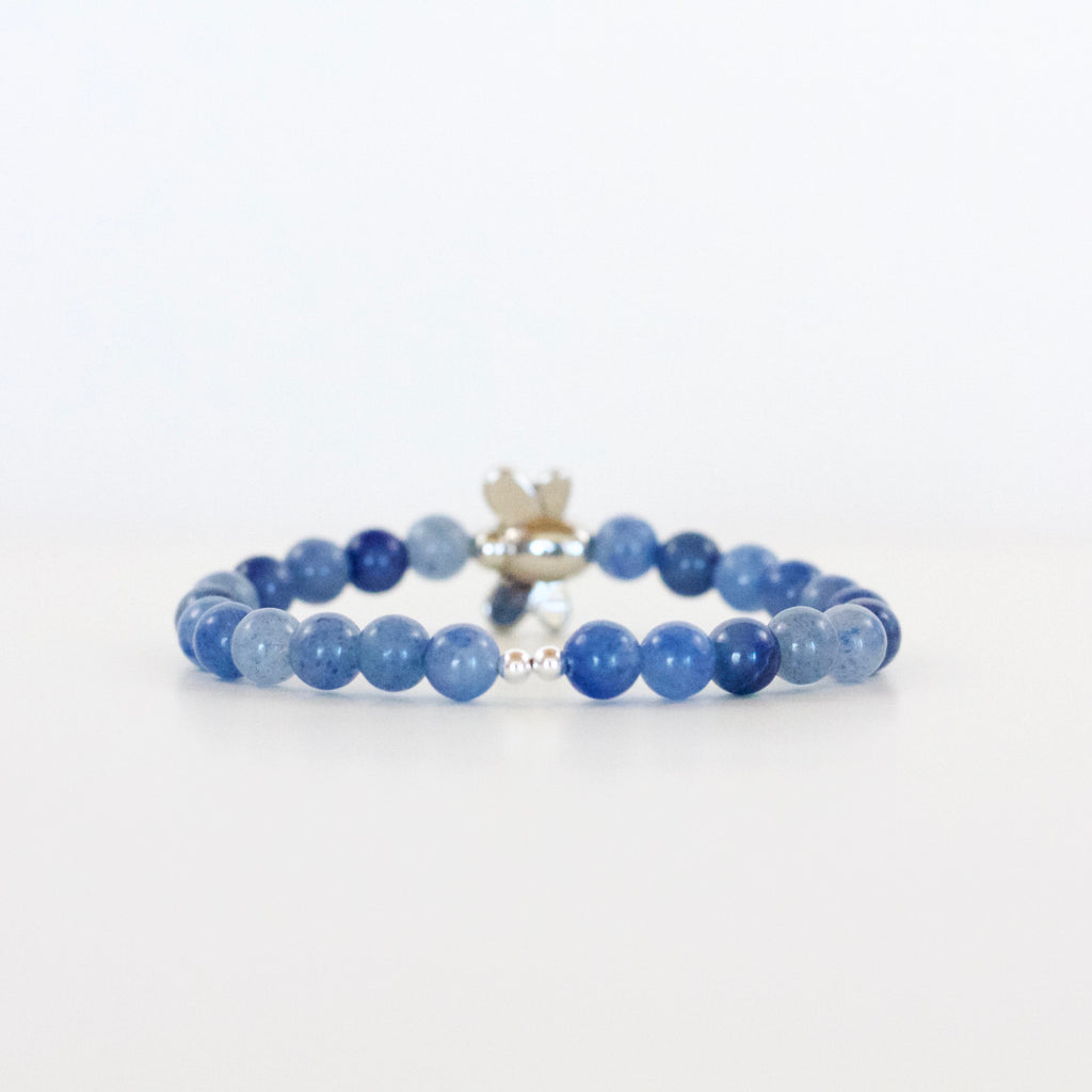 "Blue Aventurine ""I'm Enough"" Bracelet"