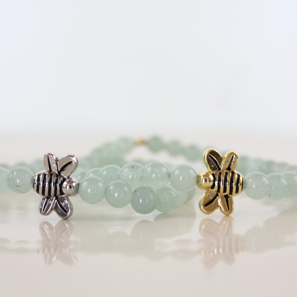 "Aventurine ""I'm Enough"" Bracelet"