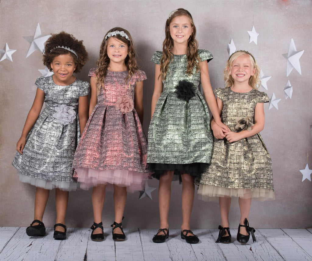deb834f52 ... pretty little girl dress • silver dress · High-Low Dresses are All the  Rave!